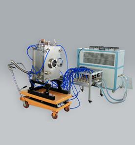 1100℃高温真空(充气)力学试验系统